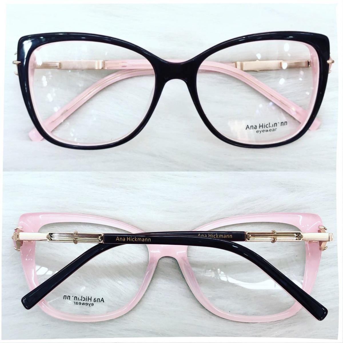 armação oculos grau feminino importado ah15 acetato original. Carregando  zoom. e4c6492095