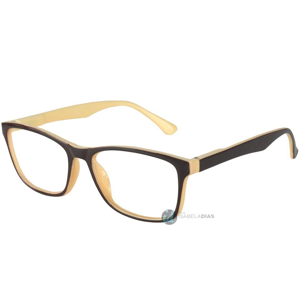 0e7dc31740d23 armação oculos grau feminino masculino quadrada barata 8306. Carregando  zoom.