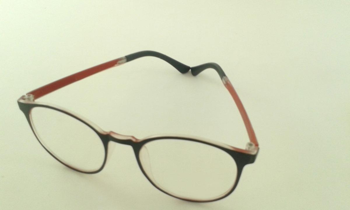 0091a727442d7 Armação Óculos Grau Feminino Masculino Redondo Geek - R  26,96 em ...