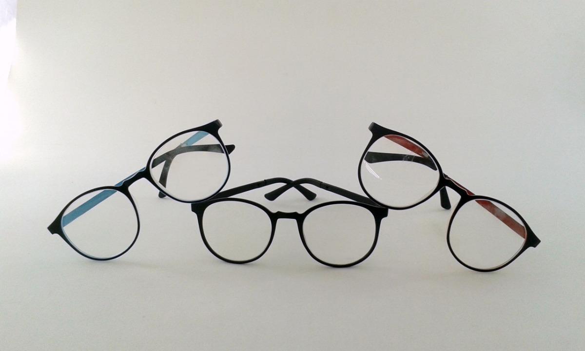 7c04ba7e16870 armação óculos grau feminino masculino redondo geek. Carregando zoom.