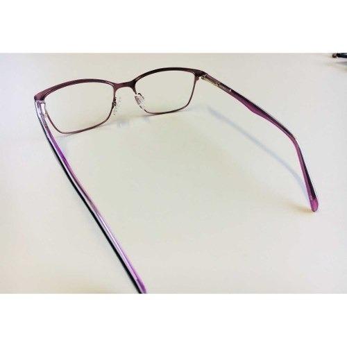 8eb2c39f52c44 armação óculos grau feminino metal moda 2018 rosa. 4 Fotos