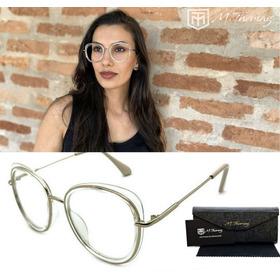 d8fdcd950 Óculos Feminino Armação Lente Transparente Kit Com 2 Barato - R$ 64 ...
