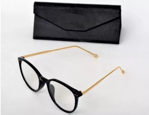 7b43d7ad6c110 Armação Óculos Grau Feminino + Óculos De Sol + Case Luxo. - R  70,00 ...