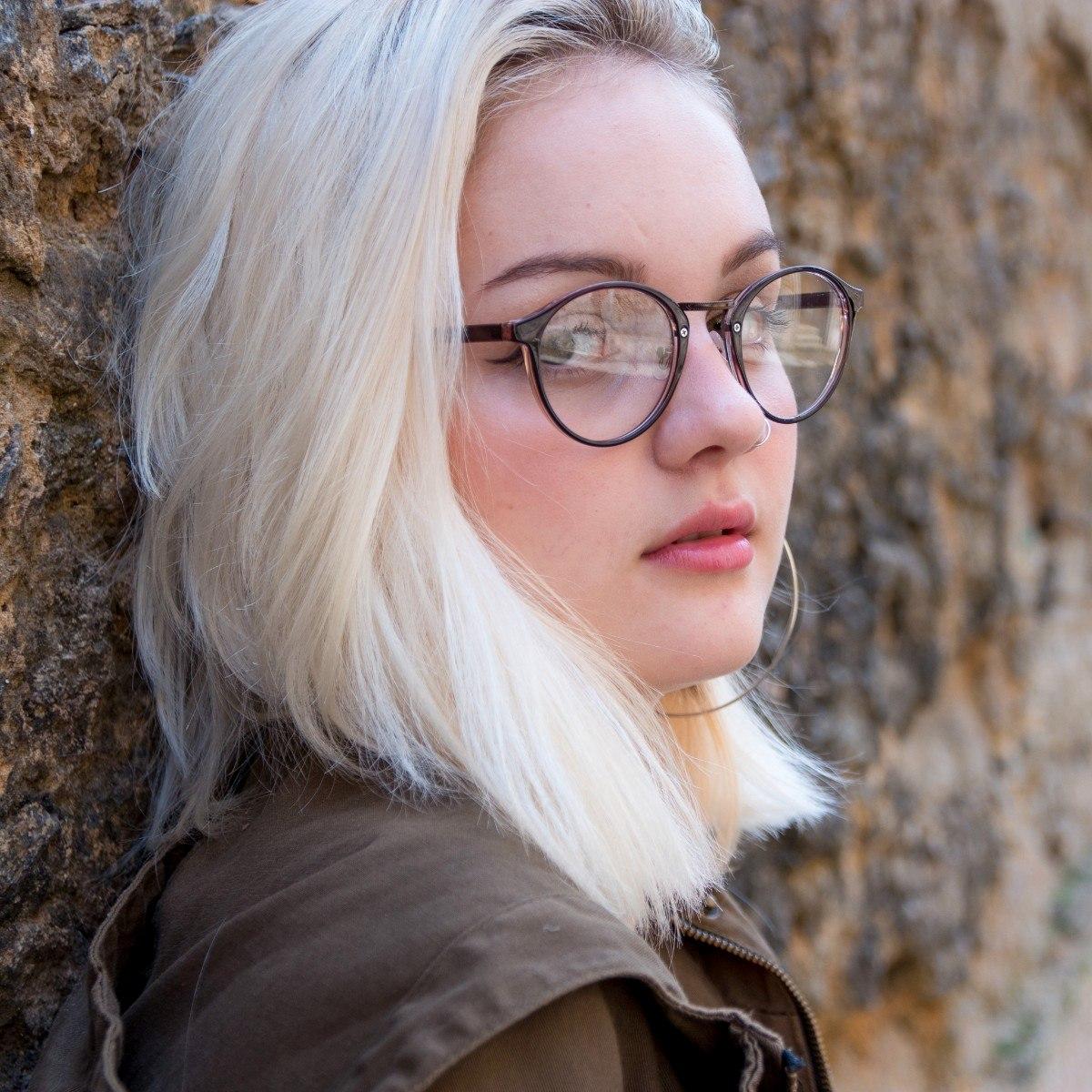 9298c6c8932e7 armação óculos grau feminino óculos redondo retrô vintage. Carregando zoom.