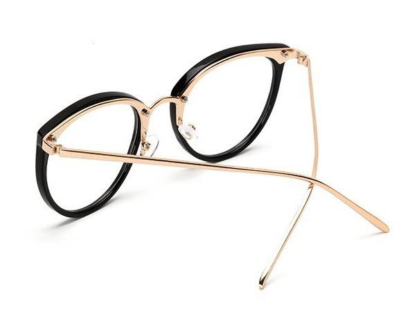 238c92c8c9dad Armação Óculos Grau Feminino Olho De Gato Menor Preço Oferta - R  50 ...