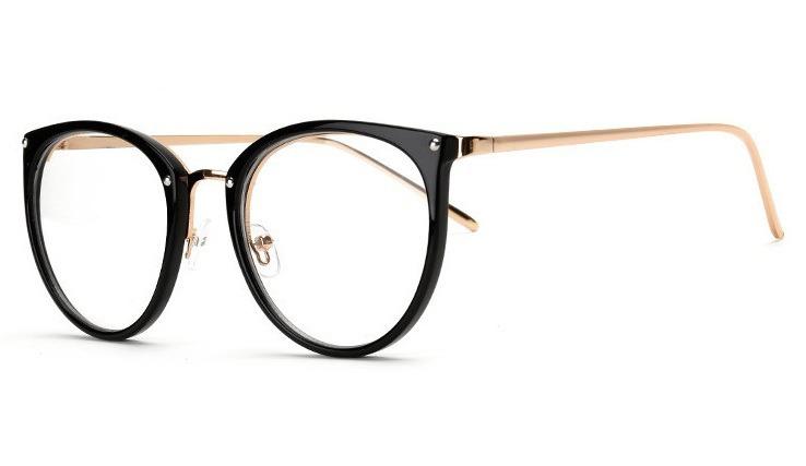 663c61002b9ea Armação Óculos Grau Feminino Olho De Gato Menor Preço Oferta - R  50 ...