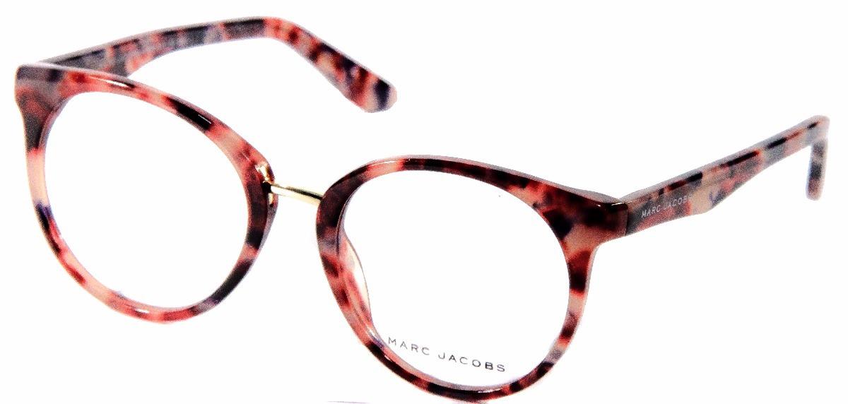 armação óculos grau feminino original marc jacobs redondo. Carregando zoom. 8e874b91c5