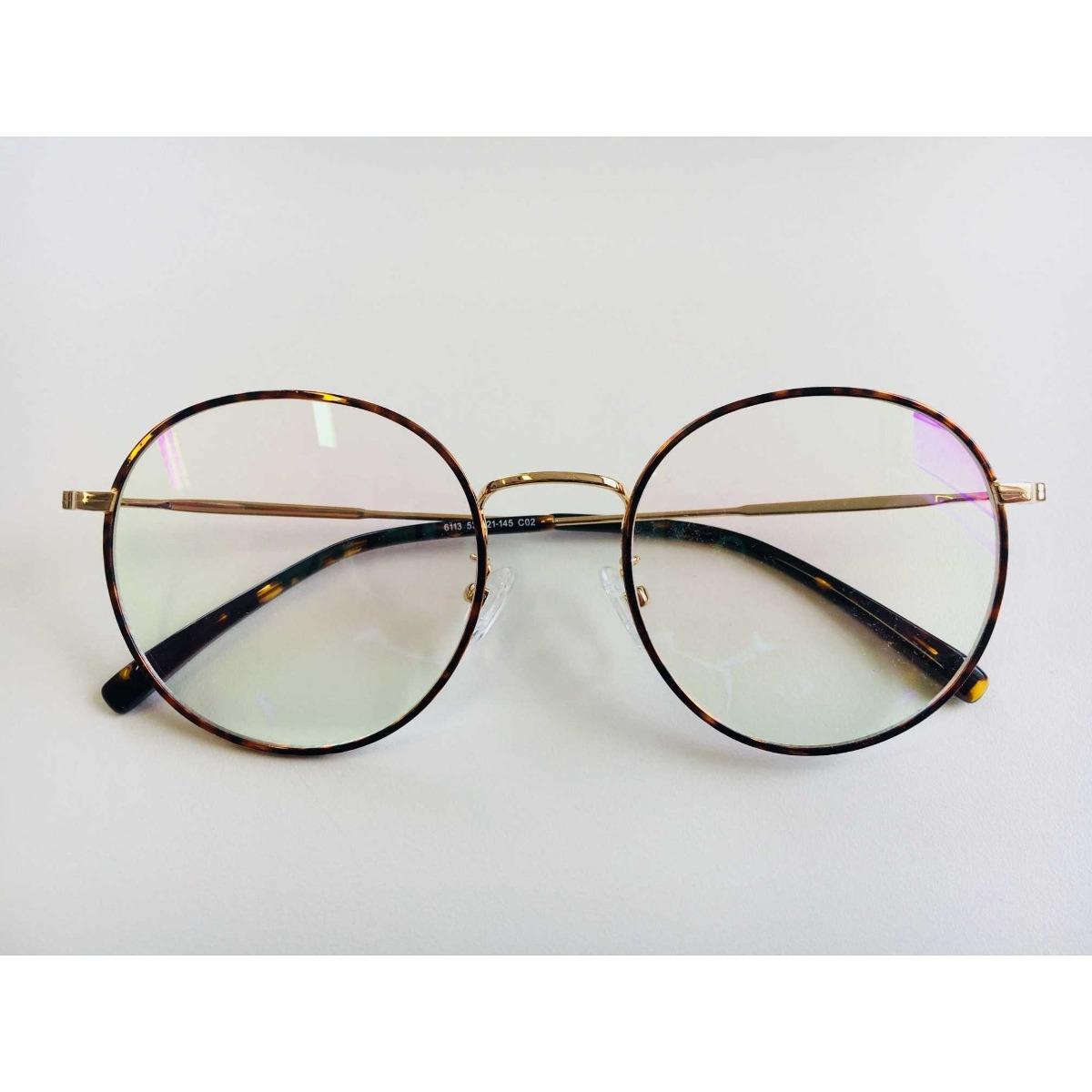 armação óculos grau feminino redondo 2018. Carregando zoom. d19387e225