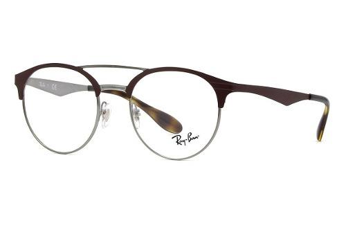 214e26fa4384d Armação Óculos Grau Feminino Redondo Geek Ray Ban 3545v 291 - R  419 ...