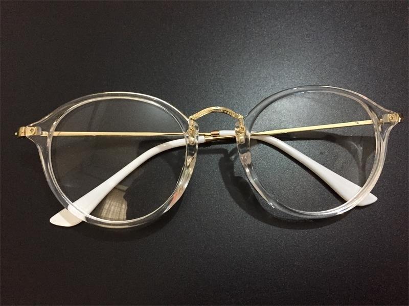 e4d38556e2343 Armação Óculos Grau Feminino Transparente Original - R  60,00 em ...