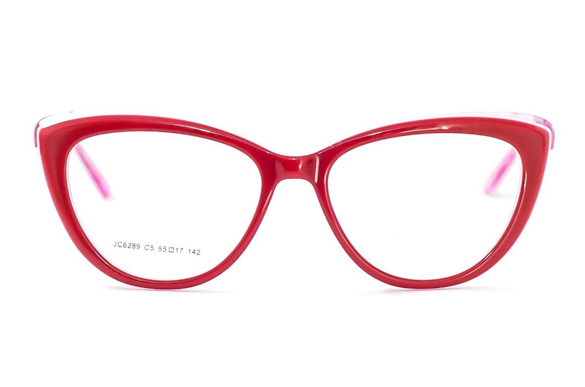 172d7de0fa5a7 armação óculos grau feminino vermelho gatinho pinup jc6289. Carregando zoom.