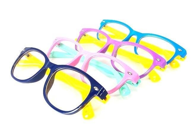 4a22cb7b7 Armação Oculos Grau Flexivel Infantil 02-7 Anos Silicone - R$ 66,67 em  Mercado Livre