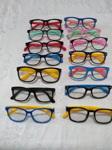 259649423 Armação Oculos Grau Flexivel Infantil 4-10 Anos Não Quebra - R$ 59 ...