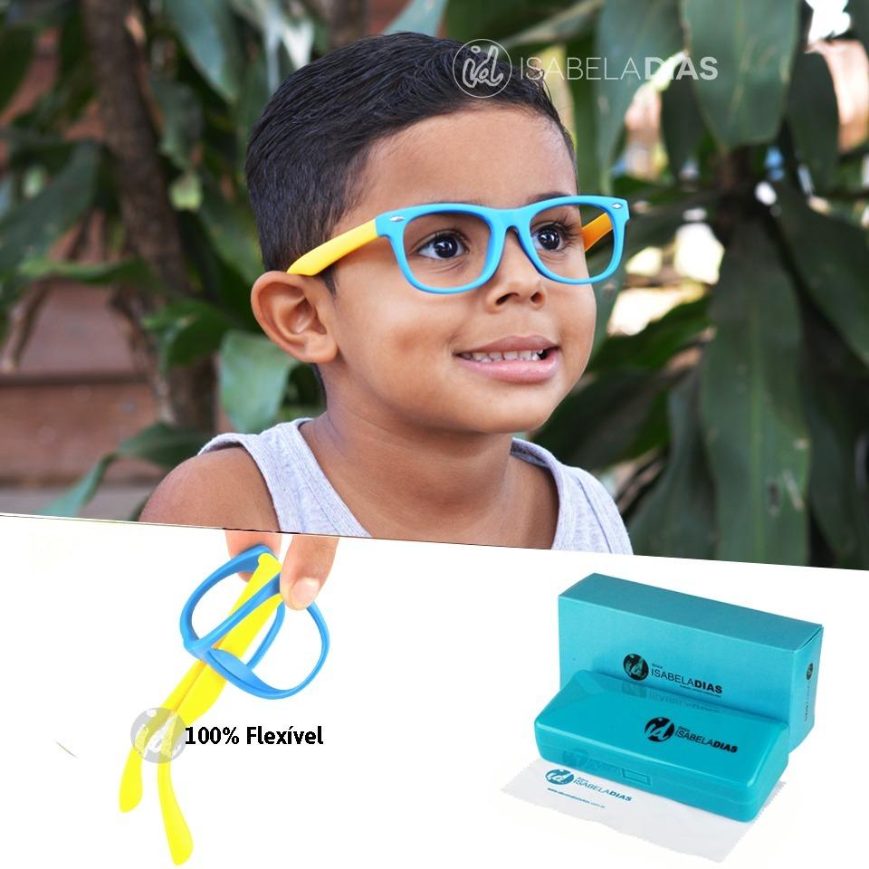 d24df6238 armação óculos grau flexível infantil original 4-10 anos 227. Carregando  zoom.