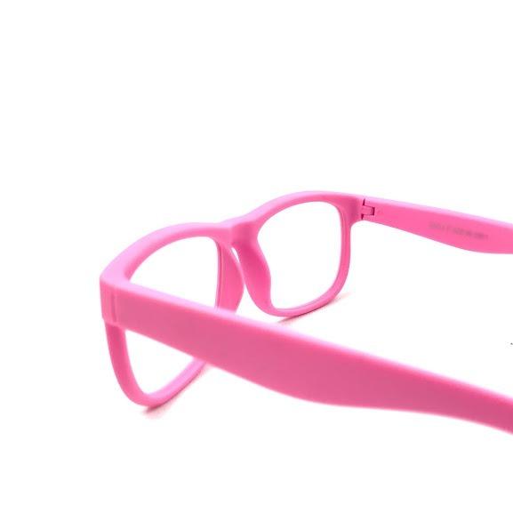 Armação Óculos Grau Flexível Silicone Infantil S814 Rosa - R  69,90 ... 28083ad757