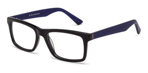 armação óculos grau fórum f6029a2853 preto unissex- refinado