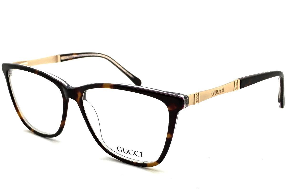 21a419229a305 53f4ee86630 armação oculos grau gatinho gucci gg1039 original feminino.  Carregando zoom.