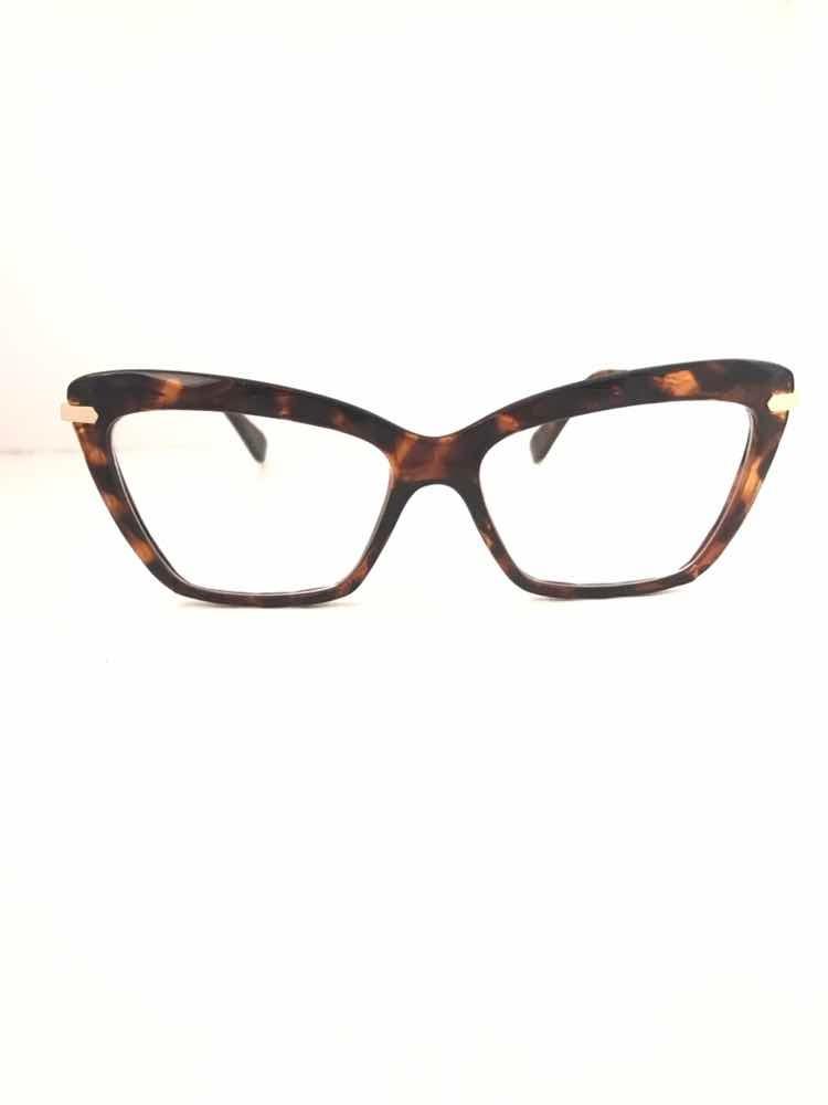 2593b3210fa0f armação oculos grau gatinho original diamante tartaruga. Carregando zoom.