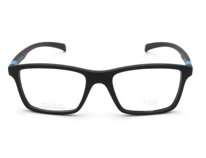 Armação Oculos Grau Hb 93151 71033 Preto Fosco Azul - R  249,00 em ... 9aa68d35c0
