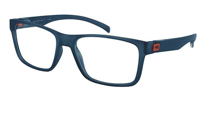 Armação Oculos Grau Hb Polytech 9310873733 Azul Transparente - R ... e63098f8df