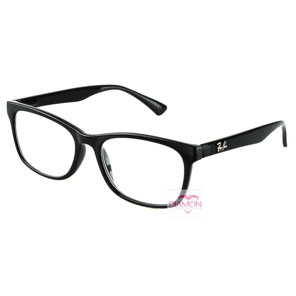armação oculos grau homem masculino rayban quadrado promoção. Carregando  zoom. c268af087c