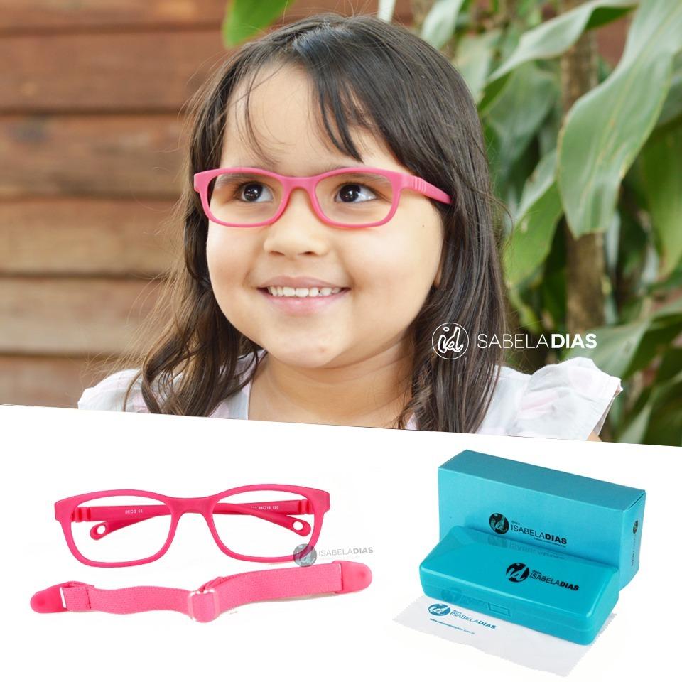 armação óculos grau infantil criança flexível elástico 282. Carregando zoom. 5adce0982e