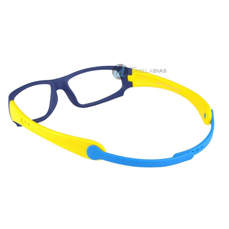 623a5d5974d18 armação óculos grau infantil flexivel elastico isabela dias. Carregando  zoom.