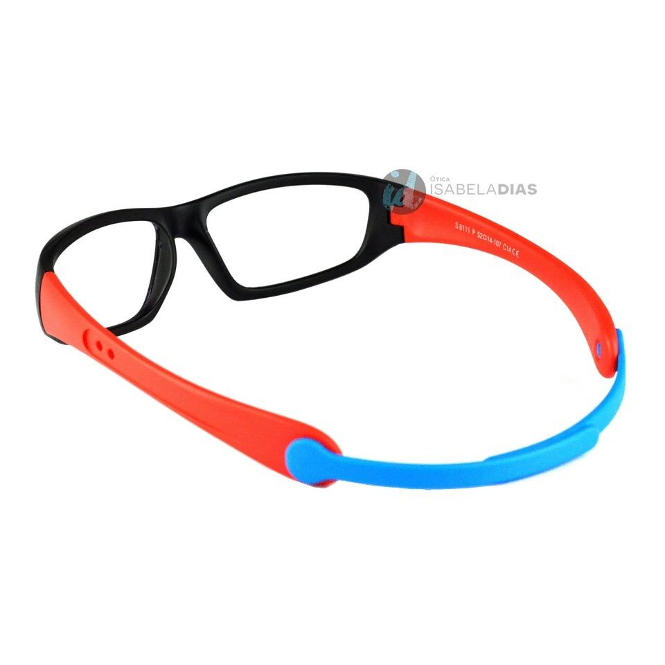 e0a8920afb823 armação óculos grau infantil flexivel elastico isabela dias. Carregando zoom .