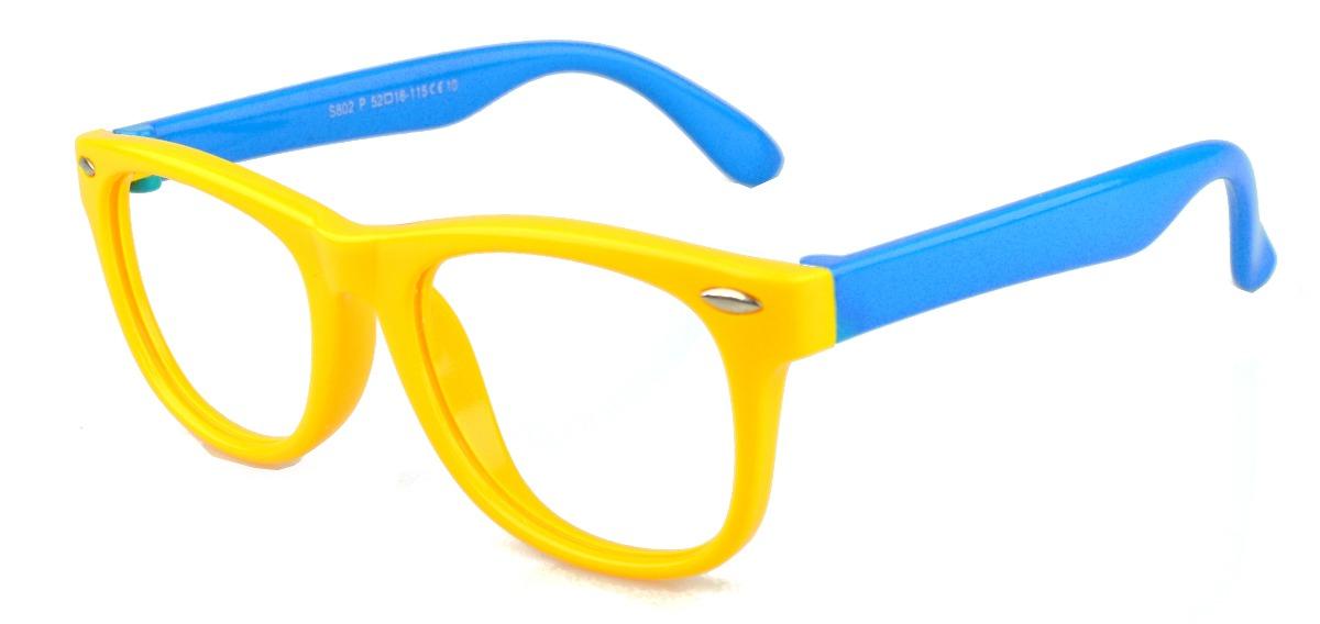 5e9f7539cd6ea armação óculos grau infantil flexível masculino silicone. Carregando zoom.