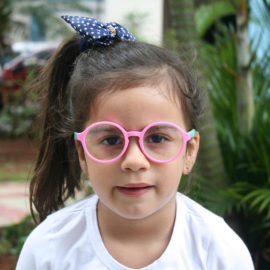 e02742afc armação óculos grau infantil flexível silicone menina 8143. Carregando zoom.