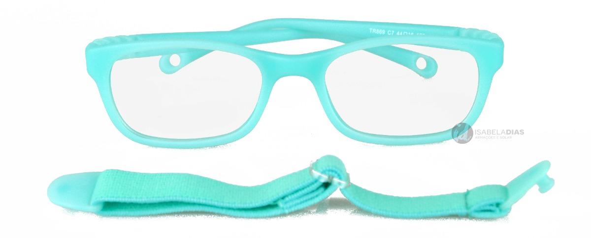 3a14787c8 Armação Óculos Grau Infantil Flexivel Tr90 3-8 Anos Mas Femi - R$ 78 ...