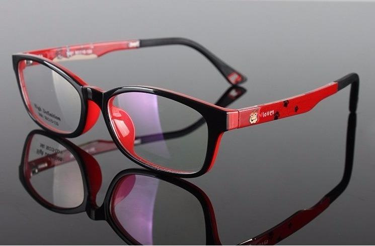da175ebb5d147 Armação Óculos Grau Infantil Masculina Feminina 7 A 10 Anos - R  120 ...