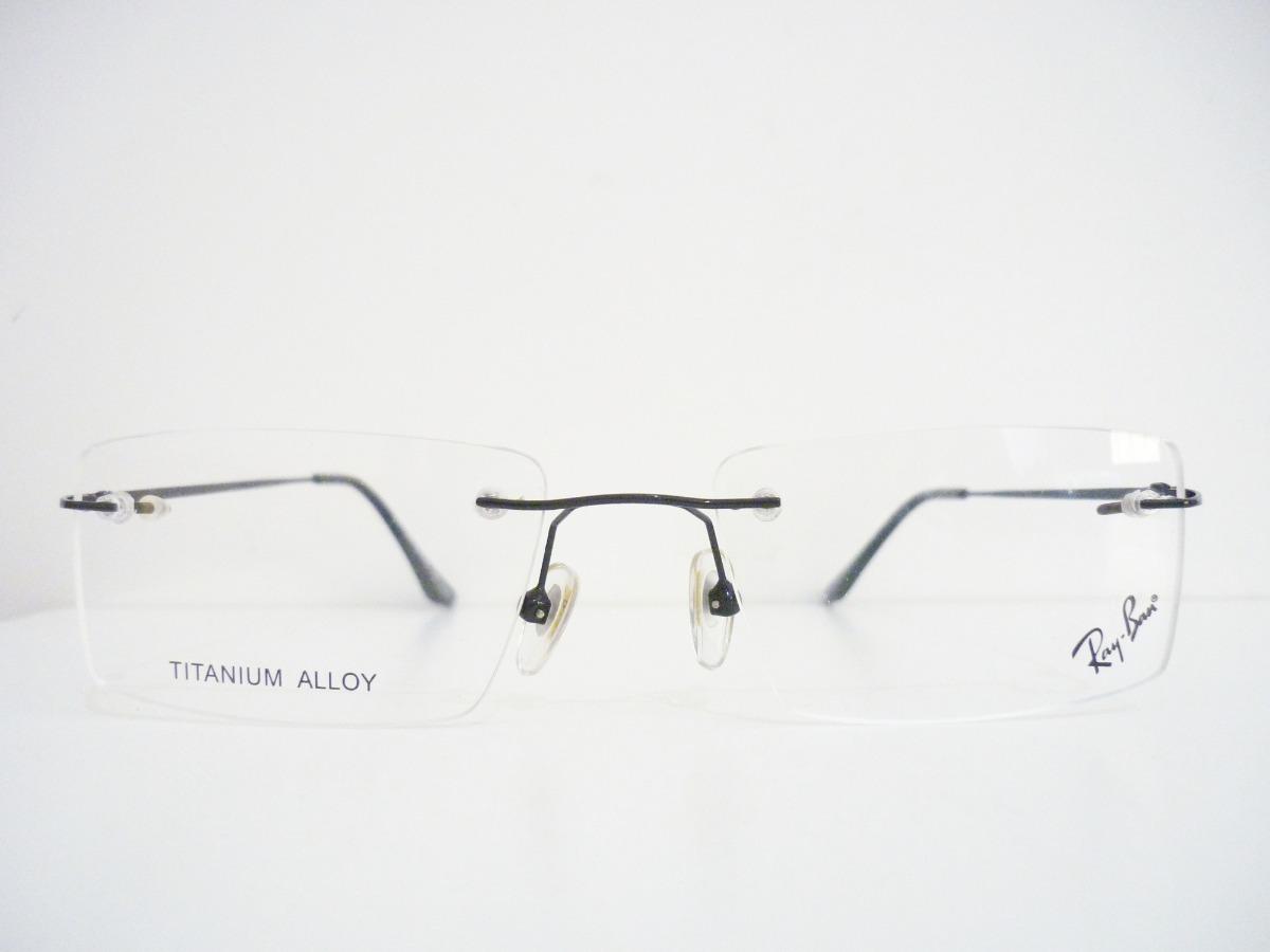 bf4ec08abca6c armação óculos grau masculina feminina titanio balgriff 7222. Carregando  zoom.