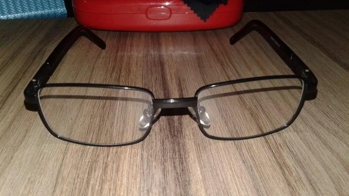 820b9346ef17b armação óculos grau masculina multifocal preta aro fechado. Carregando zoom.