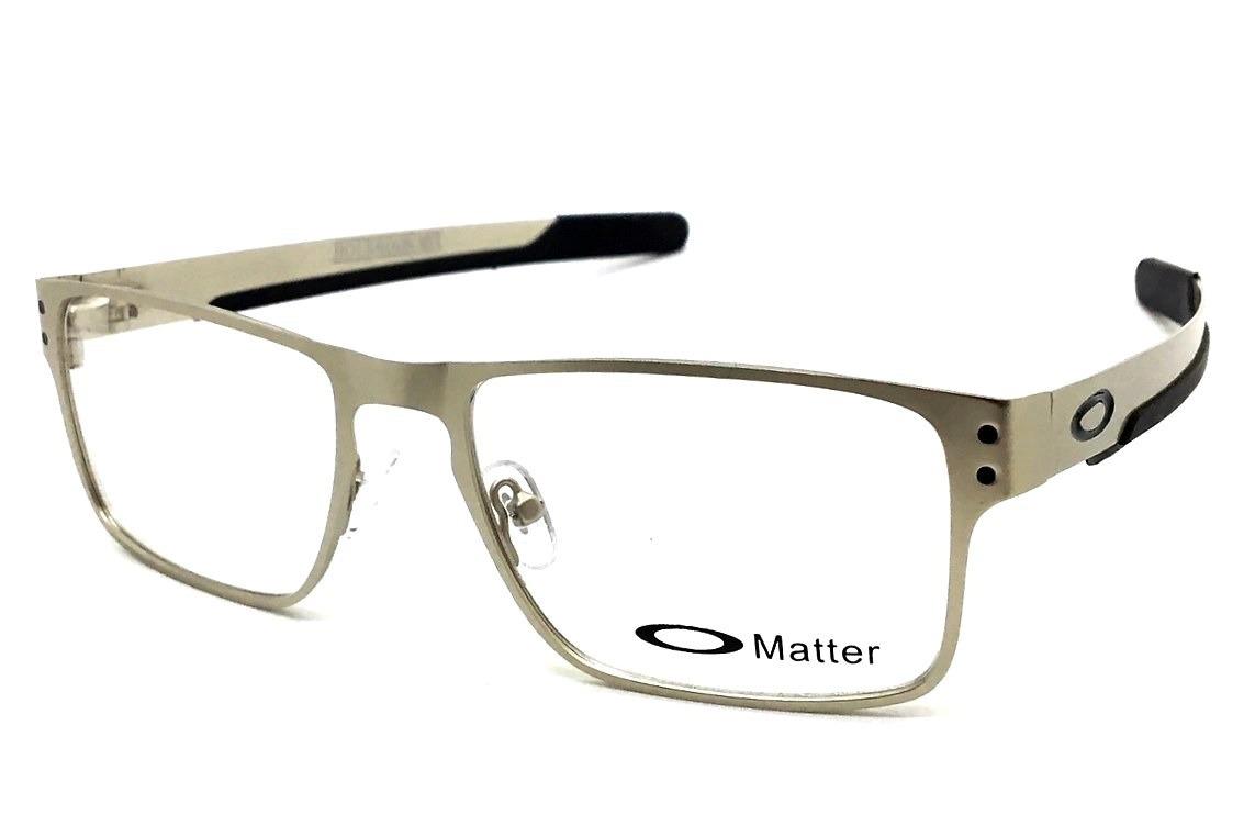 armação oculos grau masculino 9385 metal original quadrado. Carregando zoom. 5e770b26f3