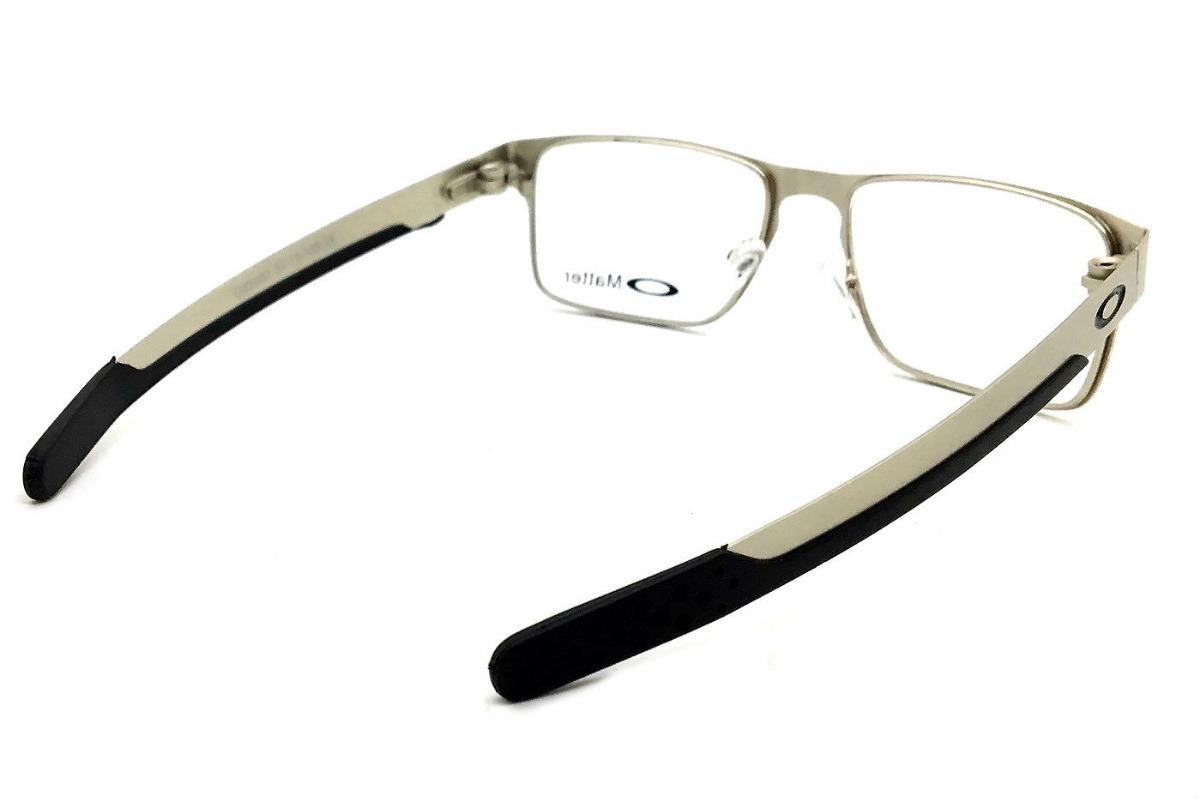 fa75a0c46 Armação Oculos Grau Masculino 9385 Metal Original Quadrado - R$ 125 ...