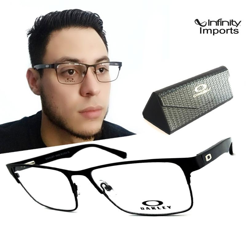20fcff832626f Armação Oculos Grau Masculino Acetato Ls170 Original Premium - R ...
