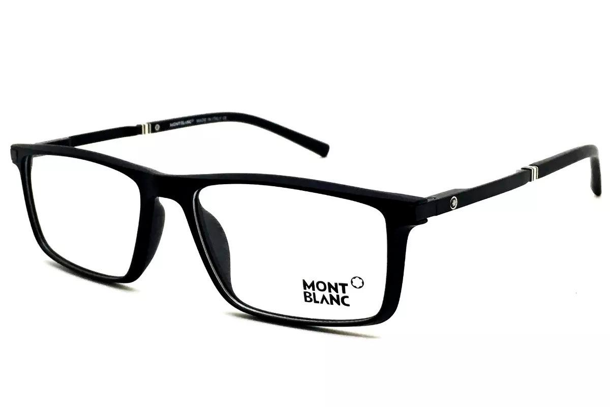 1f931ad5960f4 armação óculos grau masculino acetato mb8282 preto original. Carregando  zoom.