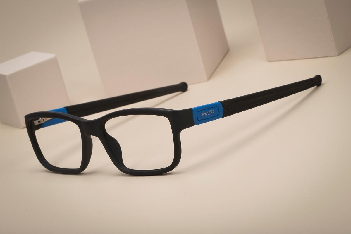 9fddfe22a4f2f Armação Oculos Grau Masculino Avano Av 272-c C  Case Flanela - R  80 ...