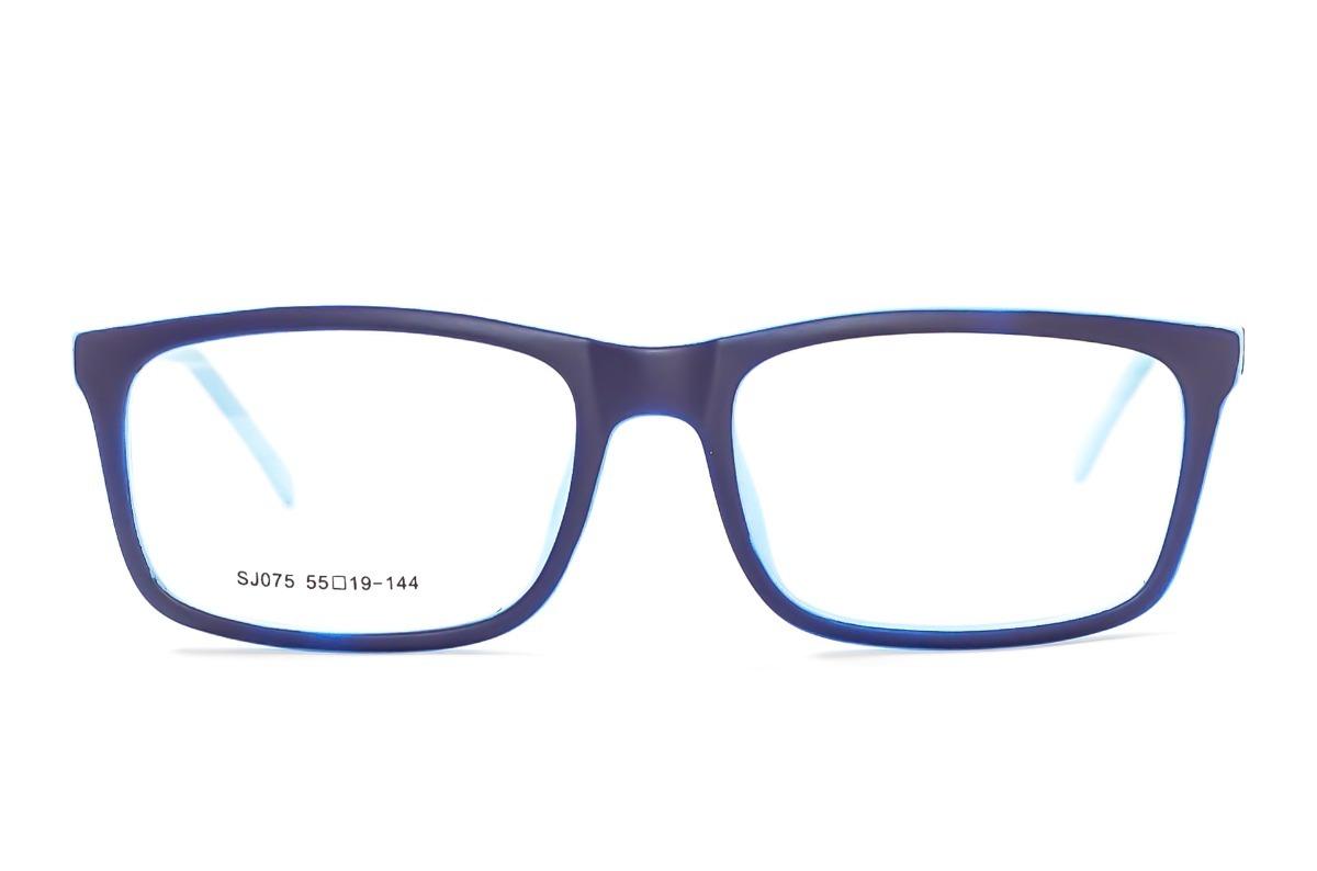 d90c0ece0724c armação óculos grau masculino azul escuro quadrado sj075. Carregando zoom.