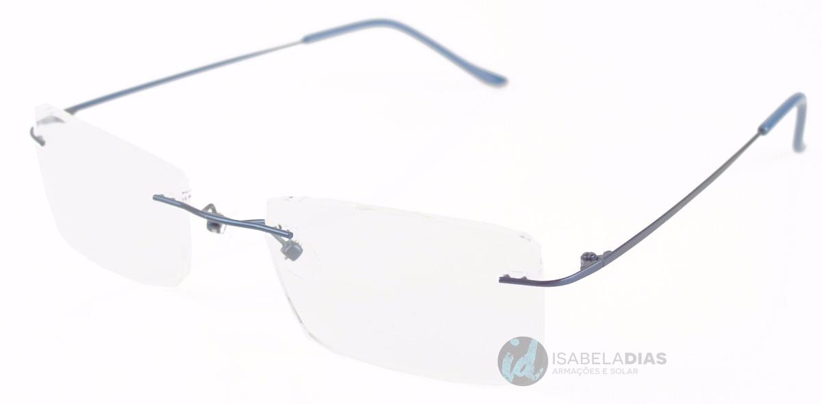 ff7b07d60d48a armação óculos grau masculino ballgrif alumínio parafusado .