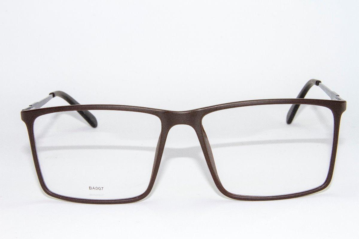 9724add93f648 armação óculos grau masculino benedetto ba007-lucas+brinde! Carregando zoom.