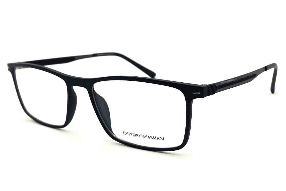 armação oculos grau masculino ea1183 armani acetato original. Carregando  zoom. 518ca835fb