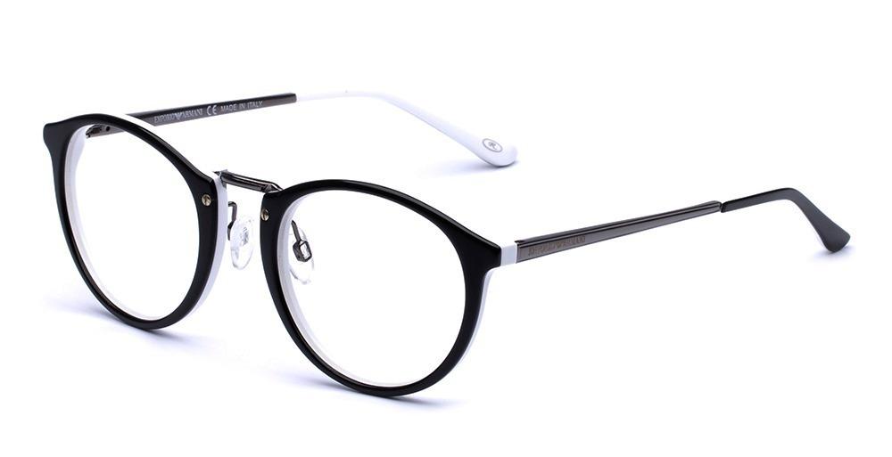 4a22bf61681c7 armação oculos grau masculino ea32 acetato redondo original. Carregando  zoom.