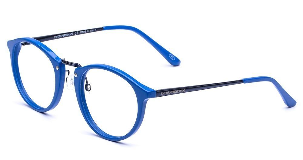 53136325d Armação Oculos Grau Masculino Ea32 Acetato Redondo Promoção. - R$ 98,89 em  Mercado Livre