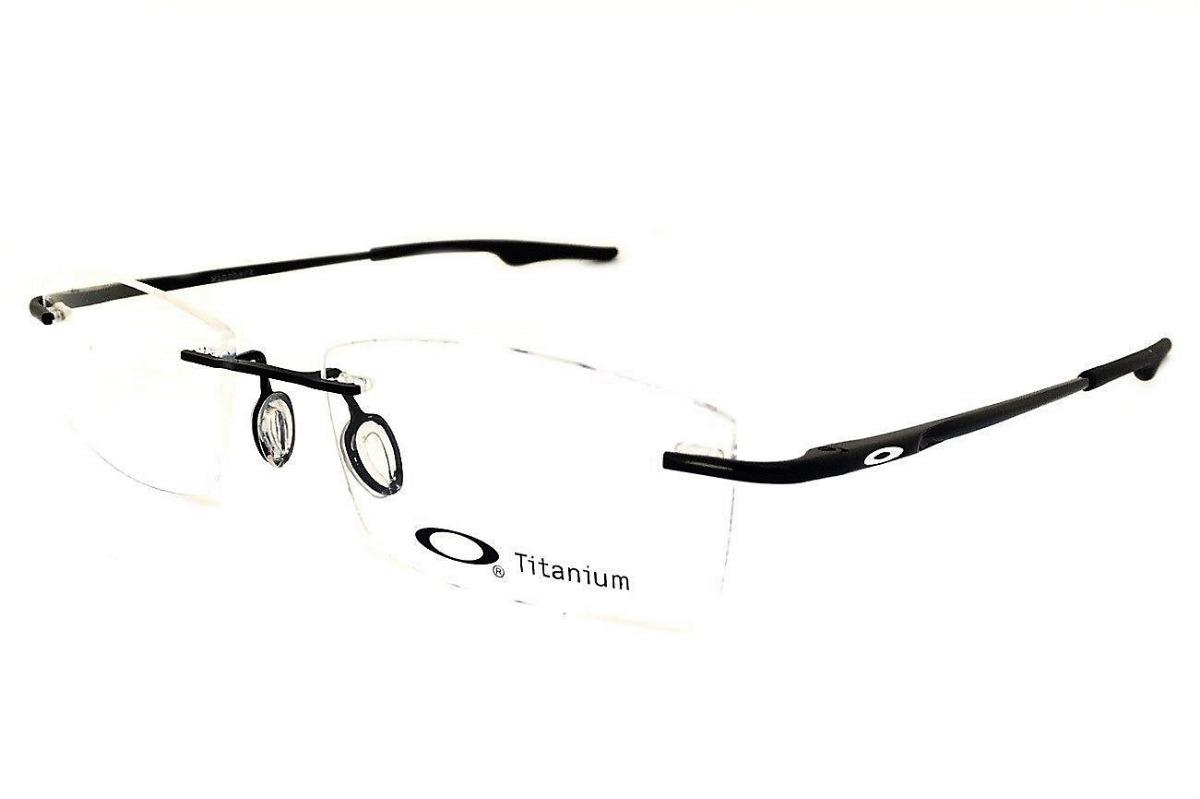 ee895c58f6ff8 armação oculos grau masculino fino sem aro ox3125 titânio. Carregando zoom.