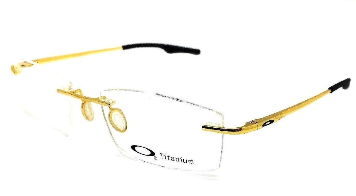 3485bfaa7a44f armação oculos grau masculino fino sem aro ox3126 lançamento. Carregando  zoom.