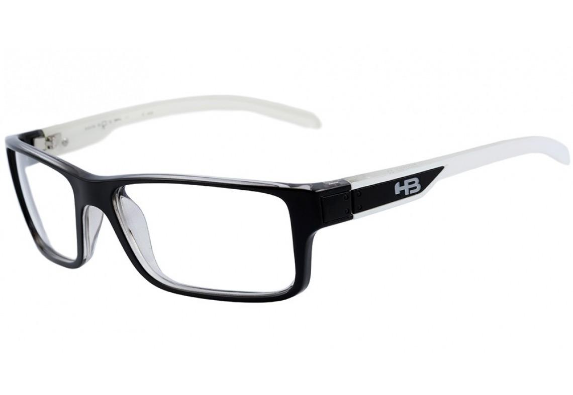 205731a87669e armação óculos grau masculino hb polytech 93018 - original. Carregando zoom.