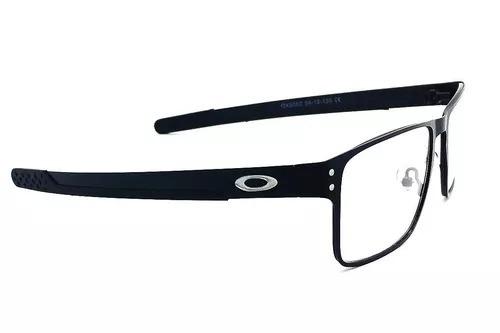 3642b5adf9105 Armação Oculos Grau Masculino Holbrook Metal Original - R  85