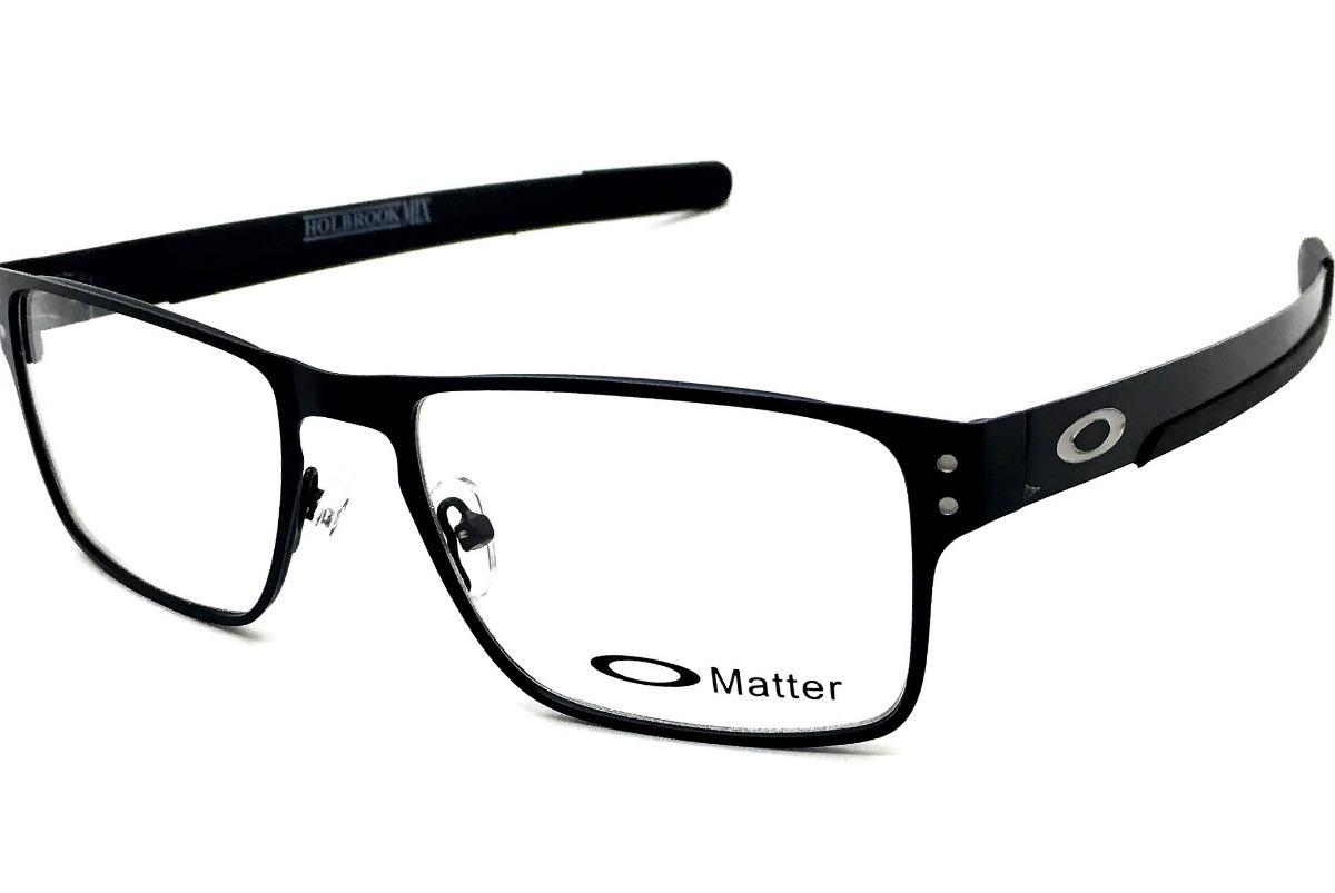 22e05c874e2e5 armação oculos grau masculino holbrook metal original. Carregando zoom.